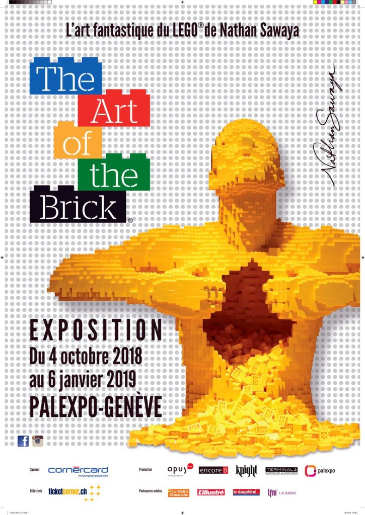 The Art of the Brick in Genf 2018/2019